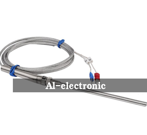 10cm Stainless Steel Probe Temperature Controller Sensor K Type